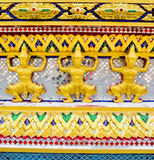 Templo tailandês em Banguecoque Foto de Stock