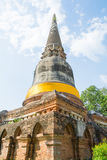 Templo tailandês Watyaichaimongkol Imagem de Stock