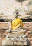 Templo tailandês Watyaichaimongkol Fotografia de Stock