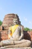 Templo tailandês Watyaichaimongkol Fotos de Stock Royalty Free