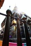 Templo Tailandia de la pagoda del brillo Fotografía de archivo