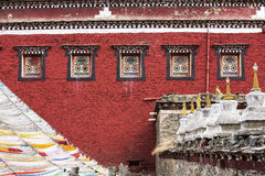 Templo tibetano Imagem de Stock Royalty Free