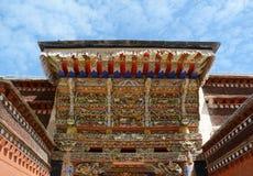 Templo tibetano del estilo (Gannan) Foto de archivo libre de regalías