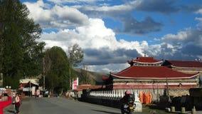 Templo tibetano em Xinduqiao, Sichuan, China Imagens de Stock Royalty Free