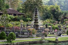 Templo Tirta Gangga Karangasem do Balinese Fotos de Stock