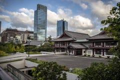 Templo Tokio de Zoji-Ji fotografía de archivo libre de regalías