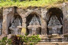 Templo-tumba de la familia imperial. Gunung-Kavi Fotos de archivo libres de regalías