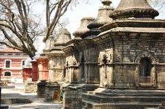 Templo de Pashupatinath fotos de stock