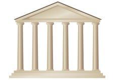 Templo (vector) Imagen de archivo libre de regalías