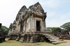 Templo velho do pagode de buddha com o céu claro em Ayuthaya Tailândia Fotografia de Stock