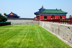 Templo velho em Beijing Foto de Stock Royalty Free