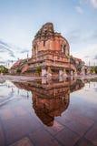 Templo velho em do norte de Tailândia fotografia de stock