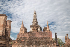Templo velho grande e fundo bonito Imagem de Stock Royalty Free