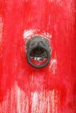 Templo vermelho da porta Fotos de Stock Royalty Free