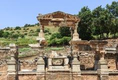 Templo viejo de Ephesus Imágenes de archivo libres de regalías