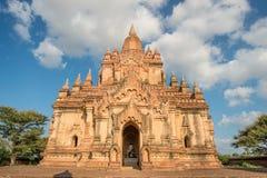 Templo viejo en Bagan, Myanmar Imágenes de archivo libres de regalías