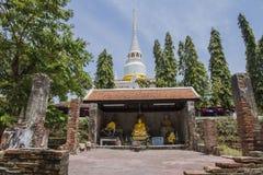Templo viejo en Songkhla, Tailandia Foto de archivo libre de regalías