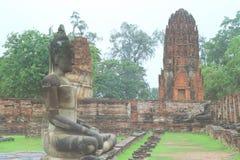 Templo viejo en Tailandia imágenes de archivo libres de regalías
