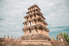 Templo viejo grande y fondo hermoso Foto de archivo