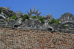 Templo - Vietname norte Fotografia de Stock