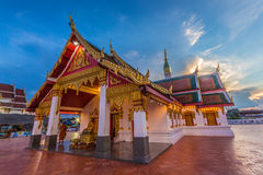 Templo, Wat Phra That Choeng Chum fotografia de stock royalty free