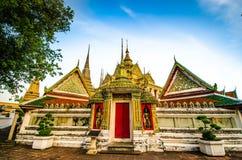 Templo Wat-Po Foto de archivo libre de regalías