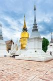 Templo Wat Suan Dok em Chiang Mai; Tailândia imagem de stock royalty free