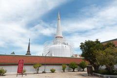 Templo woramahawihan de Wat Phra Mahathat, Tailândia do sul Imagem de Stock Royalty Free