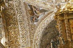 Templo XV de Santo Domingo imagen de archivo