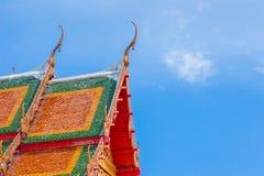 Templo y cielo Foto de archivo