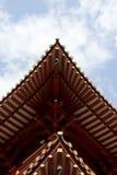Templo y el cielo Fotografía de archivo