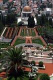 Templo y jardines de Bahai imágenes de archivo libres de regalías