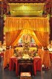 Templo y museo de la reliquia del diente de Buda en Singapur foto de archivo libre de regalías