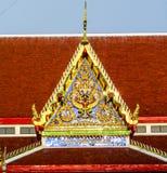 Templo y tejado de Buda Imágenes de archivo libres de regalías