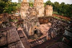 Templos Angkor Wat en Camboya, TA Prohm, Siem Reap imagen de archivo libre de regalías