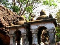 Templos antiguos Foto de archivo libre de regalías