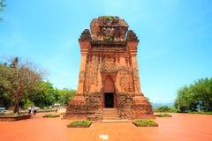 Templos antiguos de la gente del Cham en Phu Yen Province, Vietnam fotos de archivo