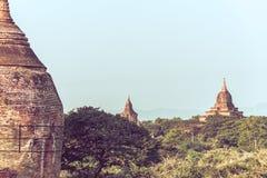 Templos antiguos en Bagan imagen de archivo libre de regalías