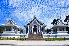 Templos blancos Foto de archivo