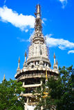 Templos blancos Fotos de archivo libres de regalías