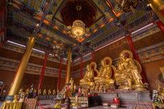Templos budistas de los templos chinos Foto de archivo