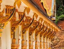 Templos budistas en Tailandia Foto de archivo libre de regalías