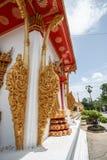 Templos budistas no estilo asiático Fotografia de Stock Royalty Free