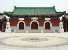 Templos chinos Fotografía de archivo libre de regalías
