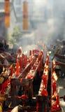 Templos chinos Foto de archivo