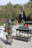 Templos chinos Fotos de archivo libres de regalías