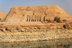 Templos de Abu Simbel imagem de stock