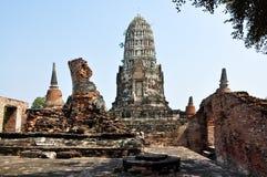 Templos de Ayutthaya Foto de archivo