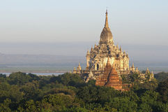 Templos de Bagan 3 Fotografía de archivo
