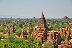 Templos de bagan, Burma fotografia de stock royalty free